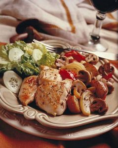 microwave cookery recipe chicken with veg
